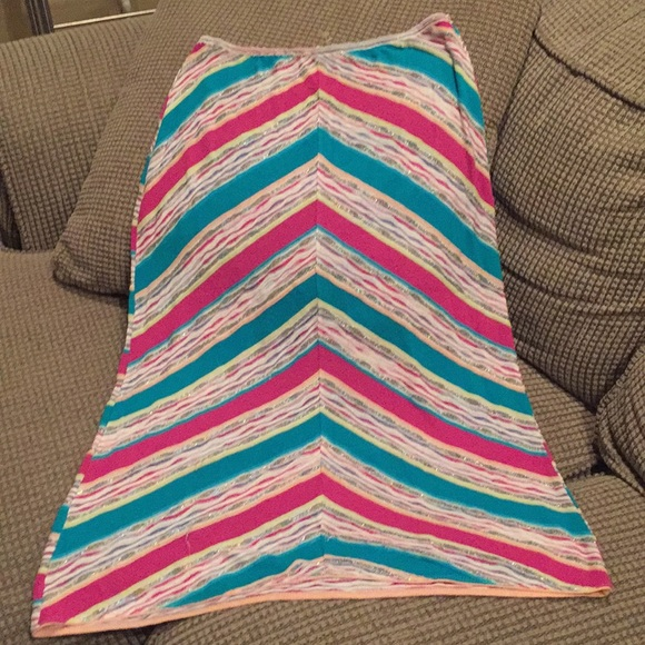 Missoni striped skirt